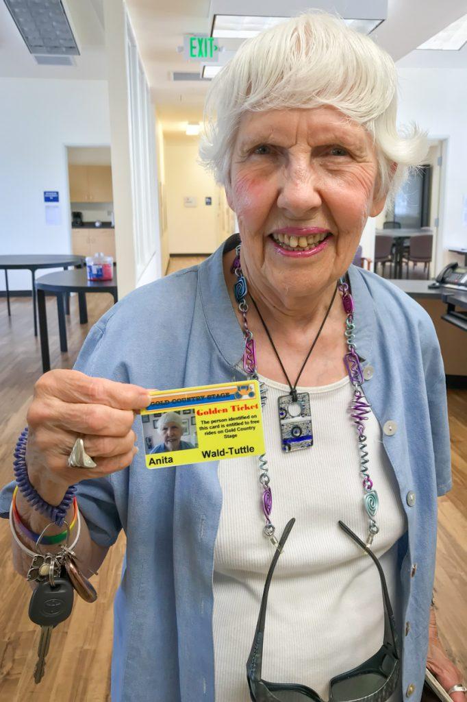 Anita's Golden Ticket
