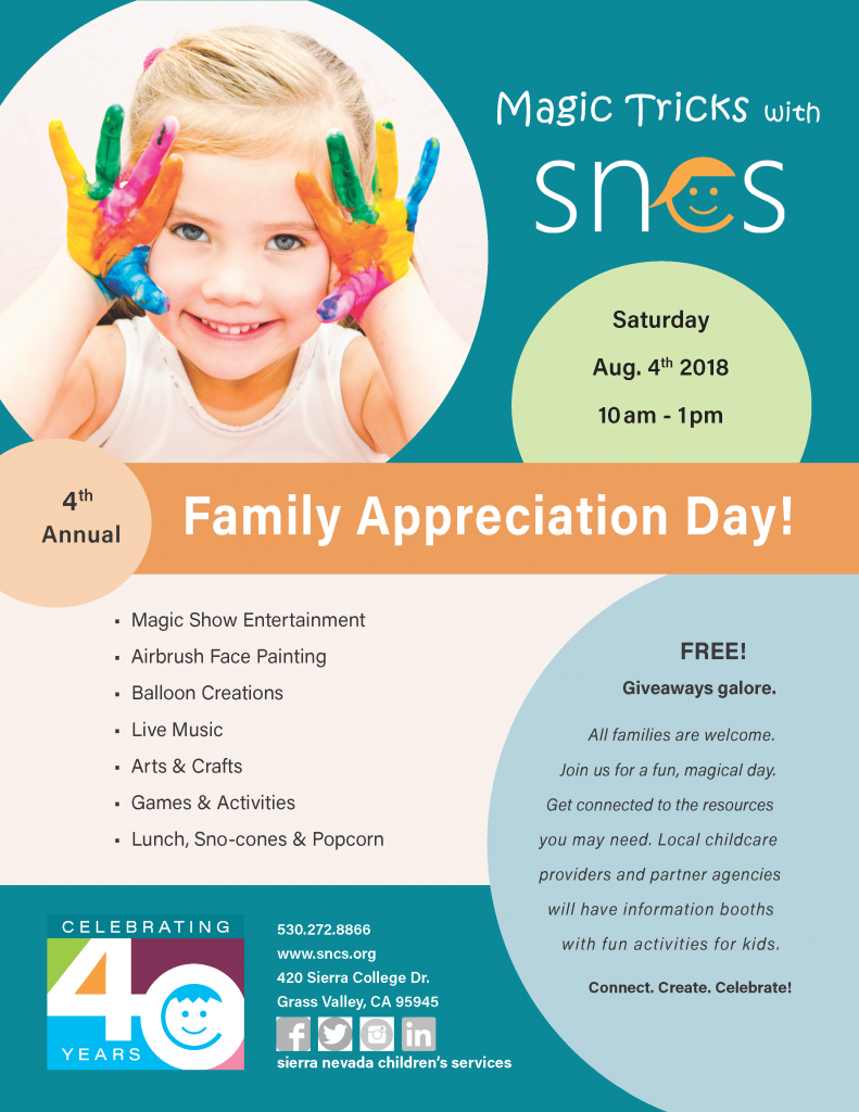 SNCS Family Appreciation Day