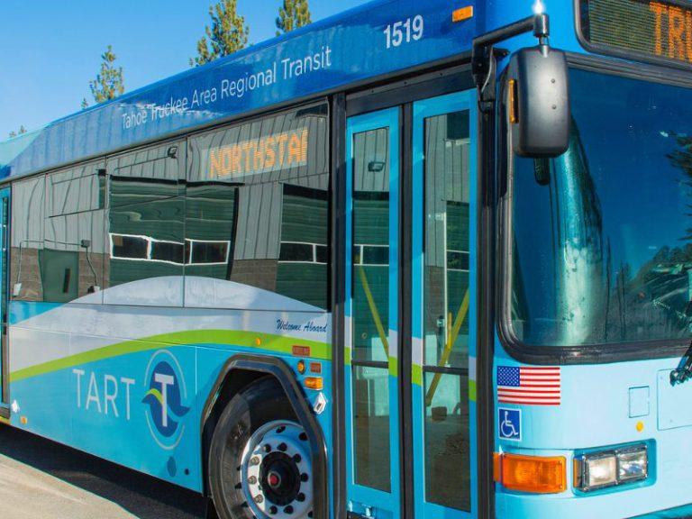 photo of TART truckee bus