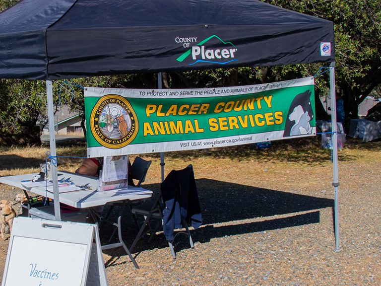 placer county booth at empower event