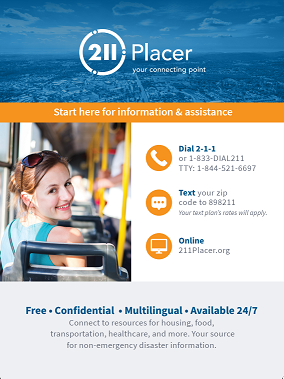 Placer County English - Young Adult Poster