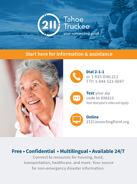 Tahoe Truckee English - Senior Poster