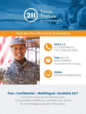 Tahoe Truckee English - Veteran Poster